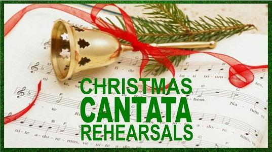 Christmas Cantata Rehearsals