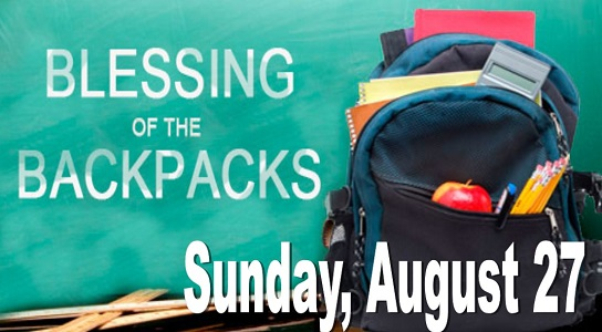 Bring Your Backpack